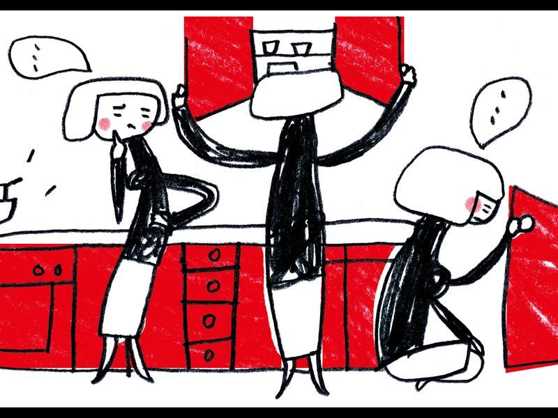 【建築士ママのマンツーマン講座】キッチンのワークから学ぶ収納の基本の画像