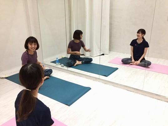 ちょっと効くwellness yoga.の画像