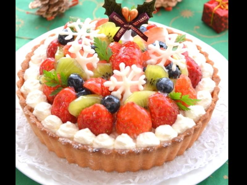 グルテンフリーのクリスマスタルトケーキのレッスンの画像