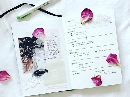 新月の日に未来を予約する。MyLife Styling手帳シェア会の画像