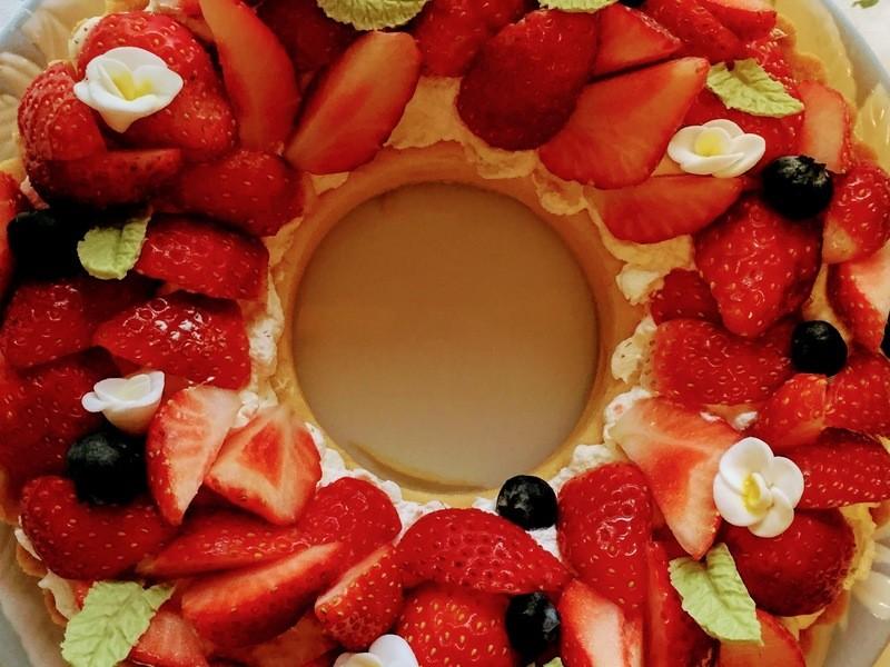 1日完結のオリジナルケーキの画像