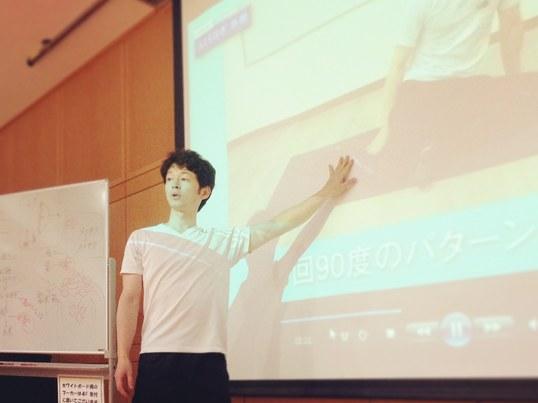 逆ストレッチ講座@渋谷の画像