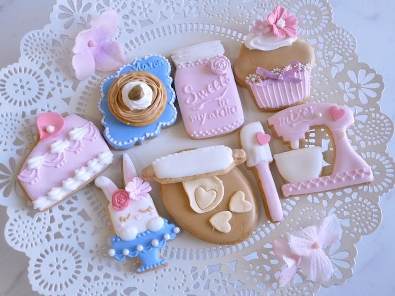 期間限定☆可愛いアイシングクッキー作りワークショップの画像