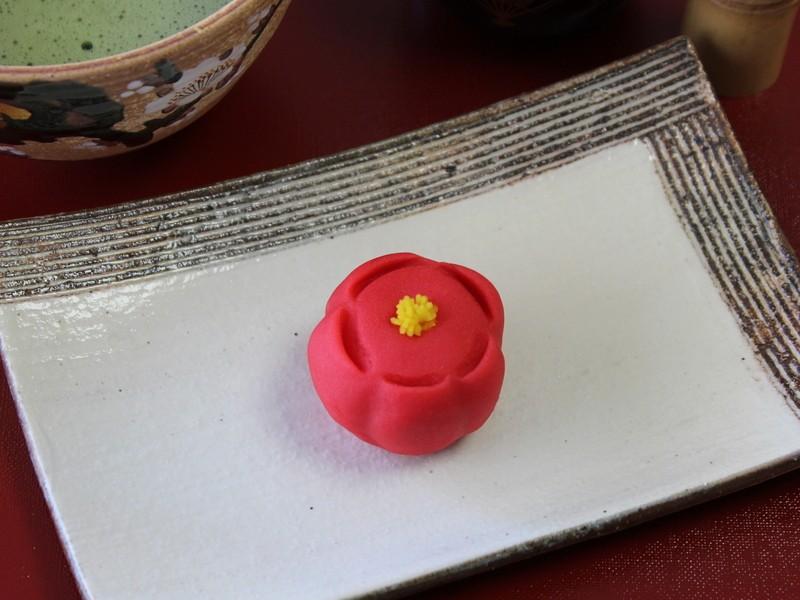 【和菓子体験】初めてさんもOK!練り切りの「紅梅」を作ってみよう♪の画像