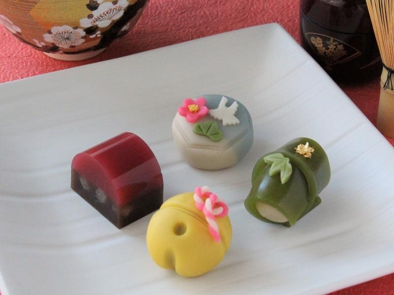 【特別講座】お正月の上生菓子4種を作ろう!の画像