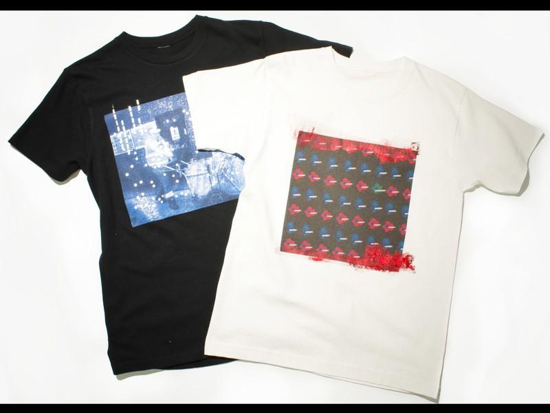 箔プリントのオリジナルTシャツづくりの画像