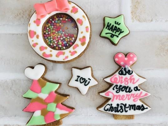 シャカシャカ♡可愛いアイシングクッキーレッスンの画像
