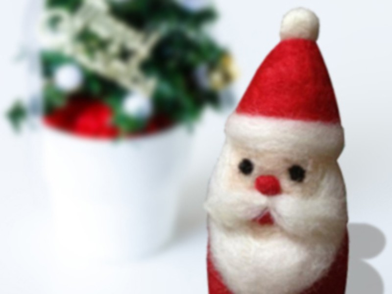 キットを使ってクリスマスモチーフをつくろう!!の画像