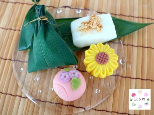【7月】夏がテーマの和菓子レッスン♪の画像
