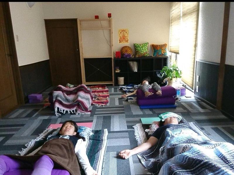 心のヨーガ講師が教える!寝ているだけで、心身回復!癒しの眠りヨガの画像