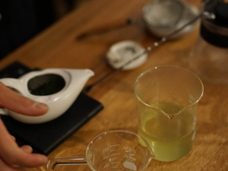 おいしいがわかる!「日本茶バリスタの抽出メソッド」急須編の画像