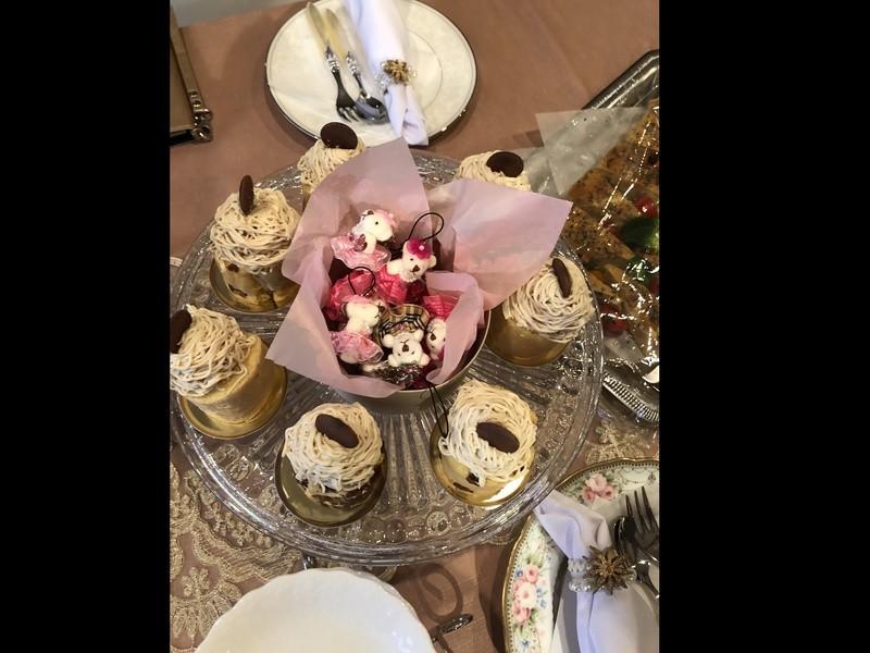 お茶を飲みながらの糖質オフセミナー!糖質オフスイーツを食べてお茶会の画像