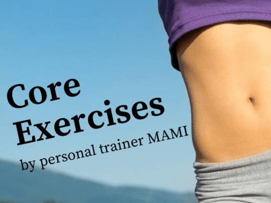姿勢が良くなる・お腹がへこむ 自宅でできる体幹トレーニング講座の画像