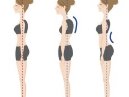 綺麗な体のラインの為に自分の姿勢を知りたくありませんか?の画像