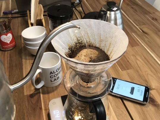 毎日のコーヒーを美味しく!ハワイコーヒー淹れ方講座東京の画像