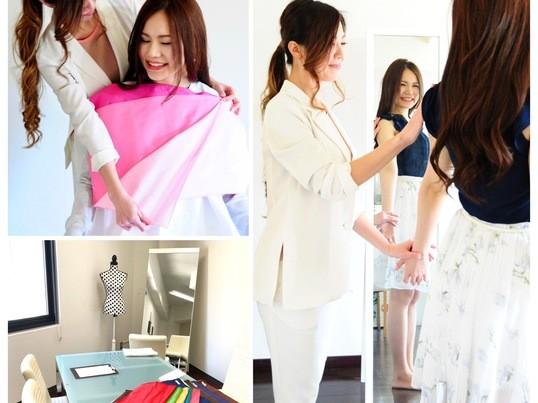 パーソナルカラー診断&骨格診断*似合うカラー・ファッション診断の画像