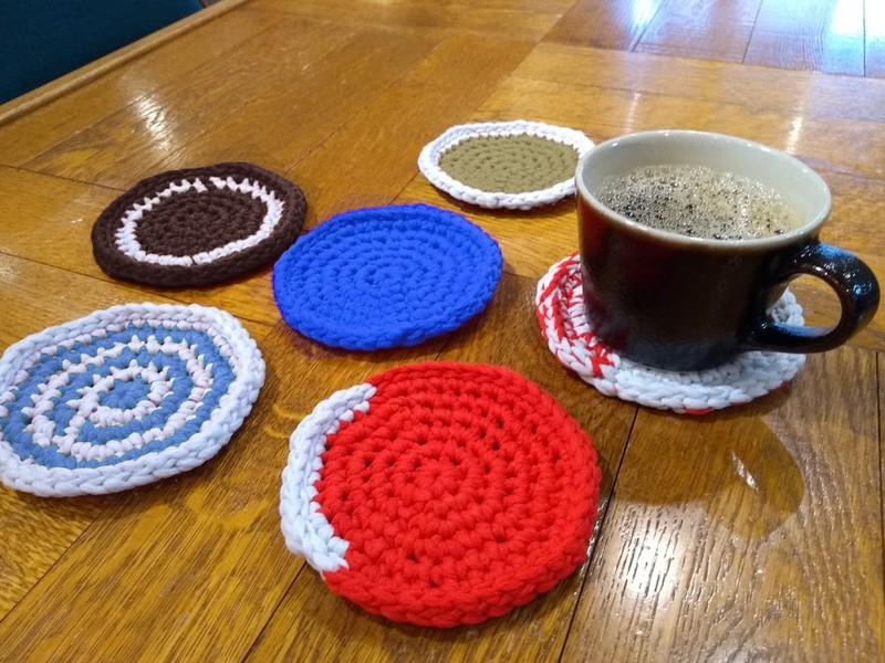 表参道【初心者】コースターで覚えるかぎ針編みの基礎と円編みの法則の画像