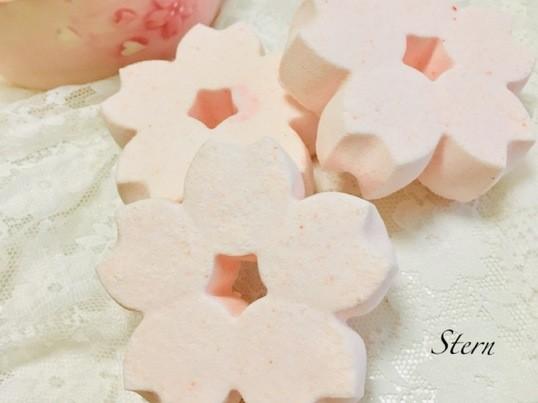 期間限定〜〜かわいい桜のバスボム作り〜〜の画像