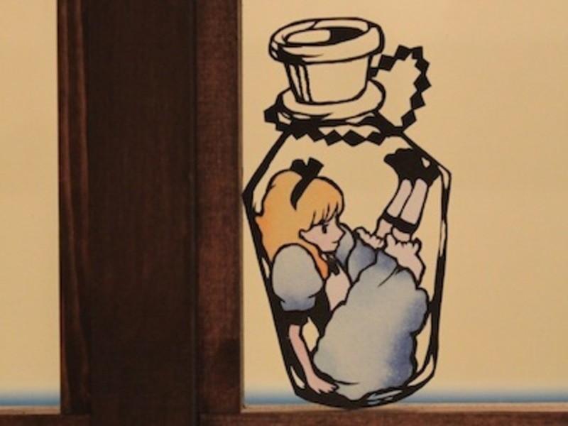 佐川綾野のおしゃれでかわいい1day 切り絵の画像