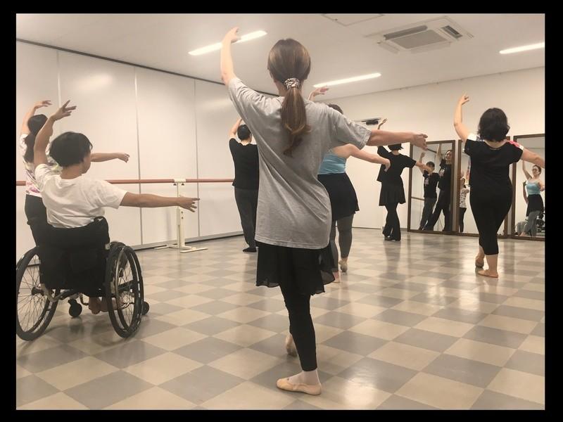【初心者向け☆】姿勢が整うバレエクラスの画像
