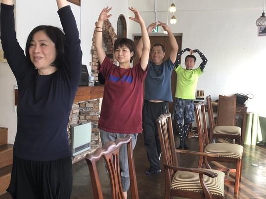 【休日クラス☆】身体すっきり!朝ヨガ&バレエクラスの画像