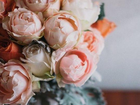 《冬のロマンティック花束》英語でフラワーアレンジ♪体験レッスンの画像