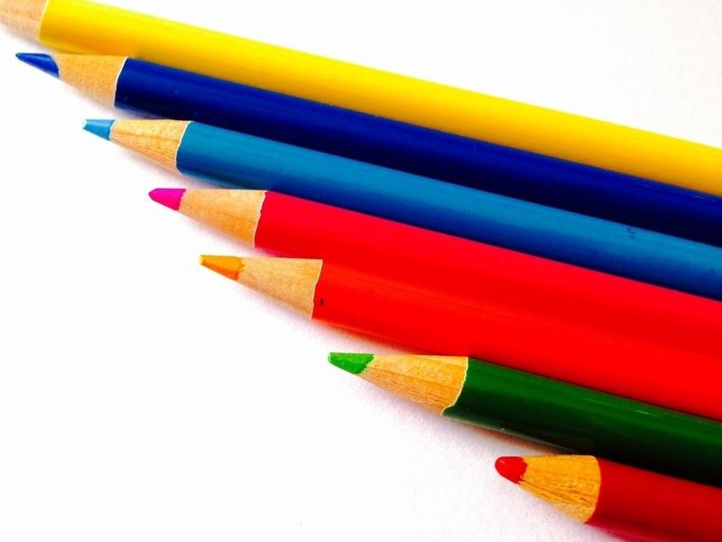 心は何色?色で見直す心と体*色えんぴつセラピー体験の画像