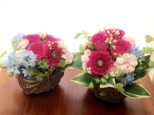 お花×カラーセラピーを楽しむ*生花アレンジメント1日体験の画像