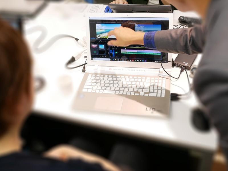youtuberのための動画編集マンツーマン教室@渋谷の画像