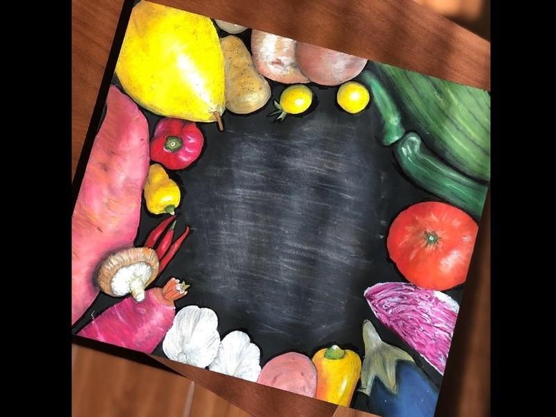 3/2 初心者も安心!大歓迎!オーストラリアン・チョークアート教室の画像