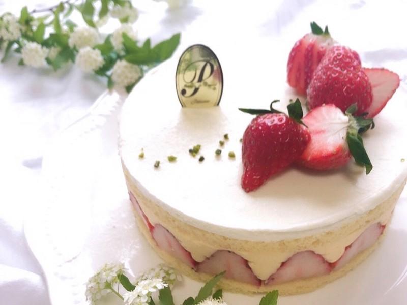 春を感じる 大人のいちごケーキ「フレジエ」の画像