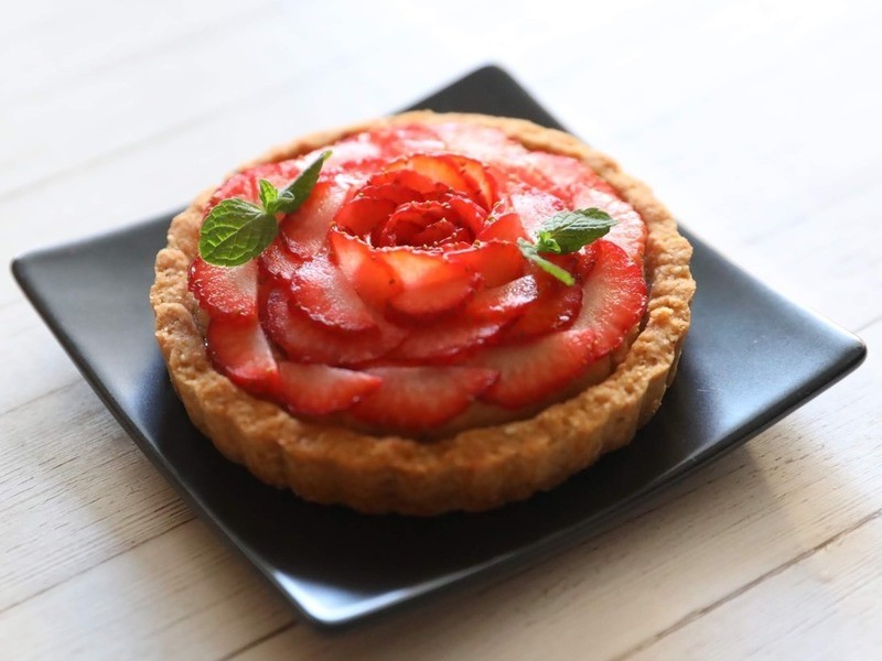 グルテンフリー♪旬のフルーツタルト(おまけクッキー付き)の画像