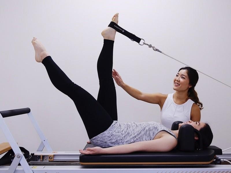 『美しさは姿勢から』プライベートレッスンのピラティスで姿勢改善の画像