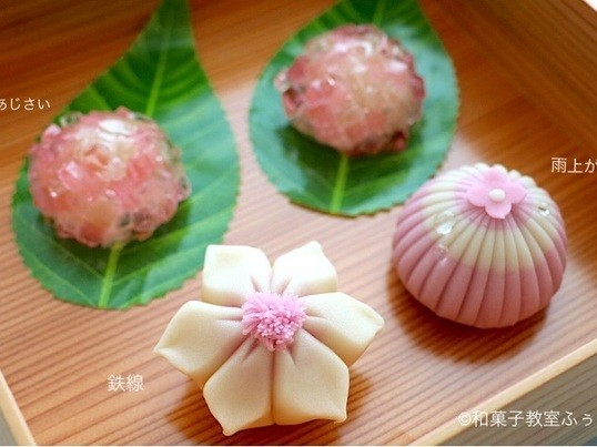 【5月】初夏を感じる和菓子づくりの画像