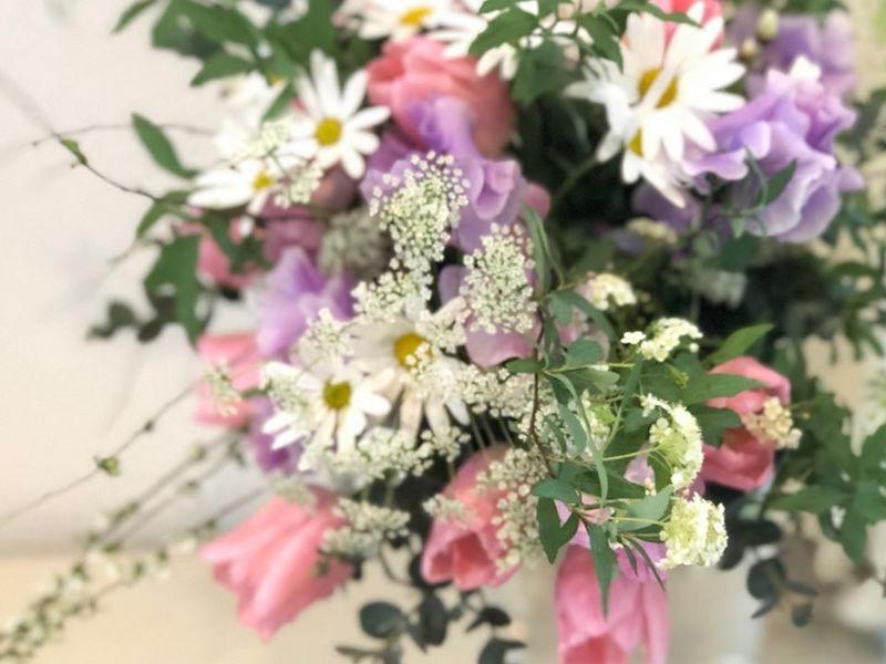 【横須賀開催】花療法でストレスフリーに!(生花アレンジメント体験)の画像