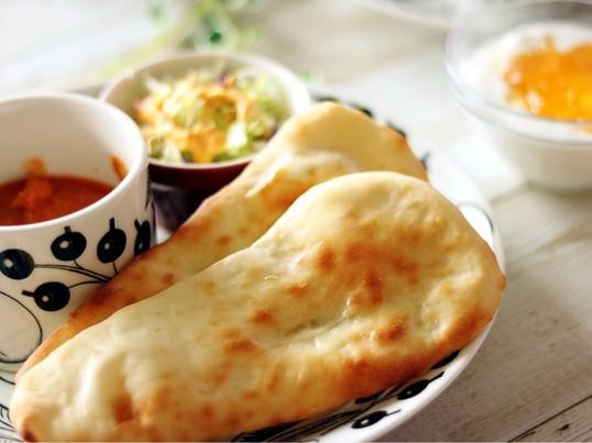 身近なスパイスで本格的なインドカレーとナンを簡単につくりましょう!の画像