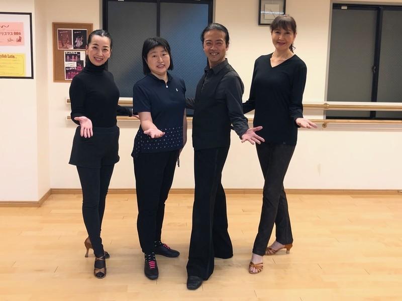 ペアで踊る前に ラテンダンスの基礎を身につけよう! の画像