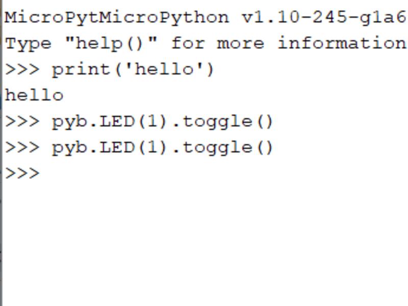 初めての電子工作(ARM+MicroPython入門編)の画像
