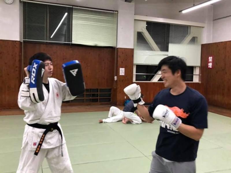 【初心者歓迎!護身術にも!】キックボクシングと日本拳法基本教室の画像
