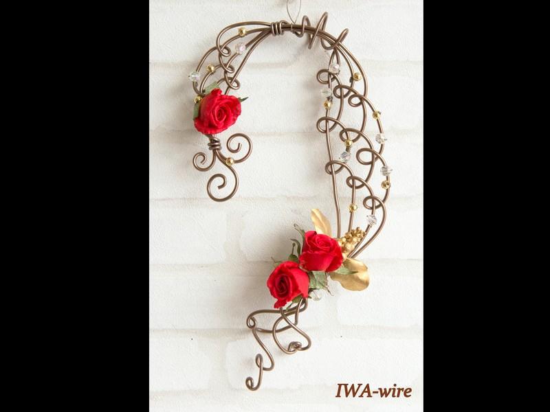 【お花有り】ドアスワッグを作って!飾って! 楽しもう♪の画像