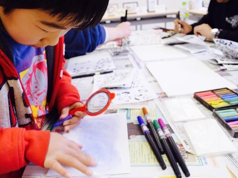 親子で参加♪筆文字アート体験講座の画像