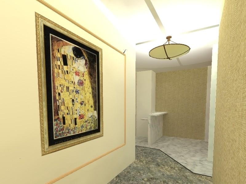 建築サロン Sketchupの照明シミュレーションの画像