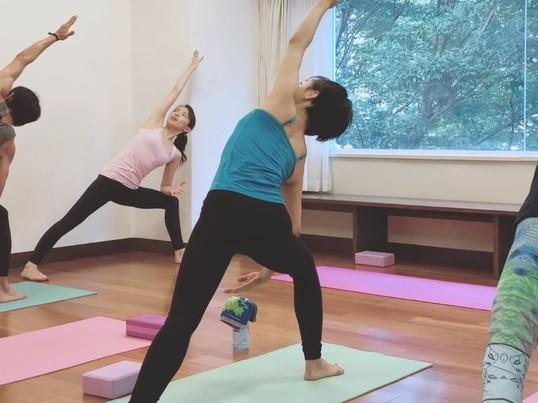 朝ヨガ◆体幹を鍛えて心も前向き!姿勢もキレイ@渋谷/少人数の画像