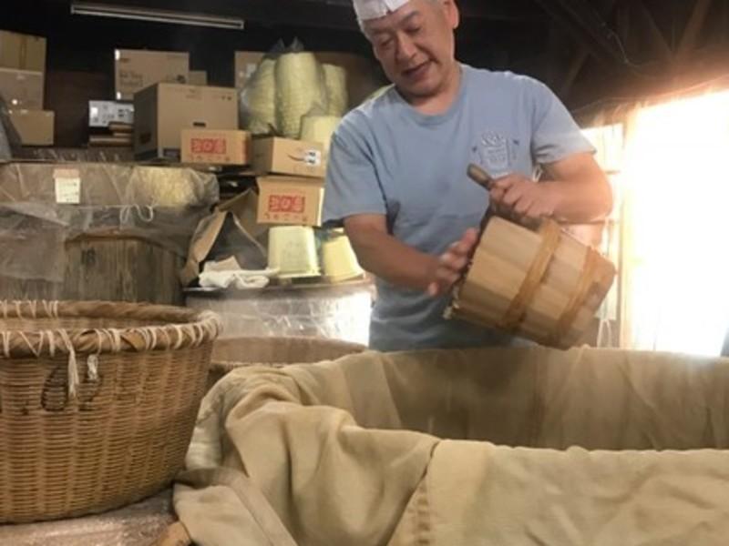 【蔵元ベーシック講座】糀屋三郎右衛門の麦味噌作り の画像