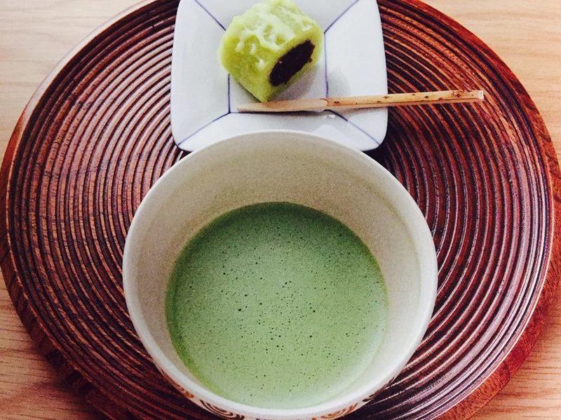 カジュアルな茶の湯の画像