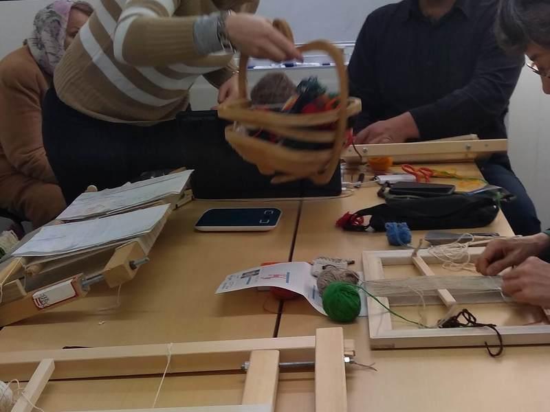 3レッスン&ご自宅で作る 遊牧民のじゅうたんギャッベを作るの画像