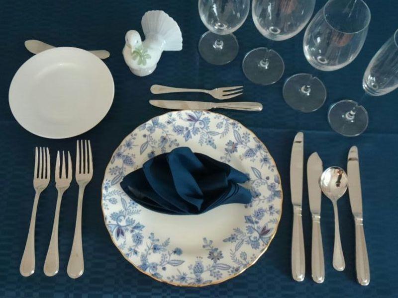【洋のテーブル入門】洋食器の知識&フルコース・マナーを学ぶの画像