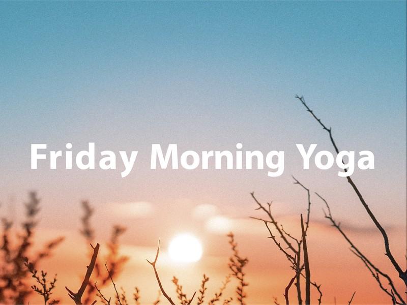 【金曜日/朝】ココロとカラダを目覚めさせるモーニングヨガ@恵比寿の画像