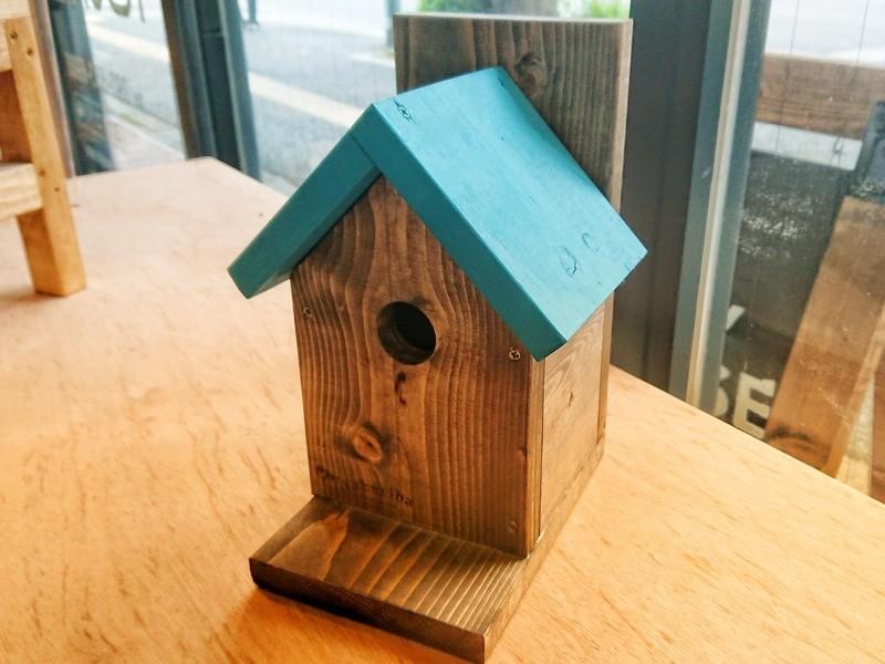 【DIYが初めての方におススメ!】鳥の巣箱型小物入れの画像