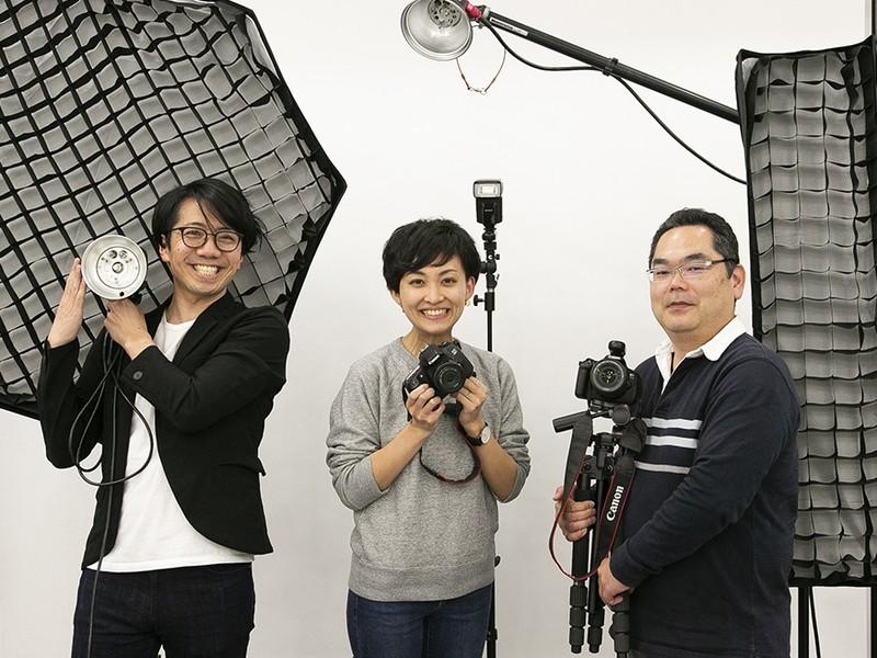 4時間みっちり!本物の写真スタジオで写真の基礎を覚えよう!の画像